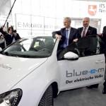 """""""Schaufenster Elektromobilität"""": Volkswagen und Partner stellen die Bewerbung der niedersächsischen Metropolregion auf der CeBIT 2012 vor"""